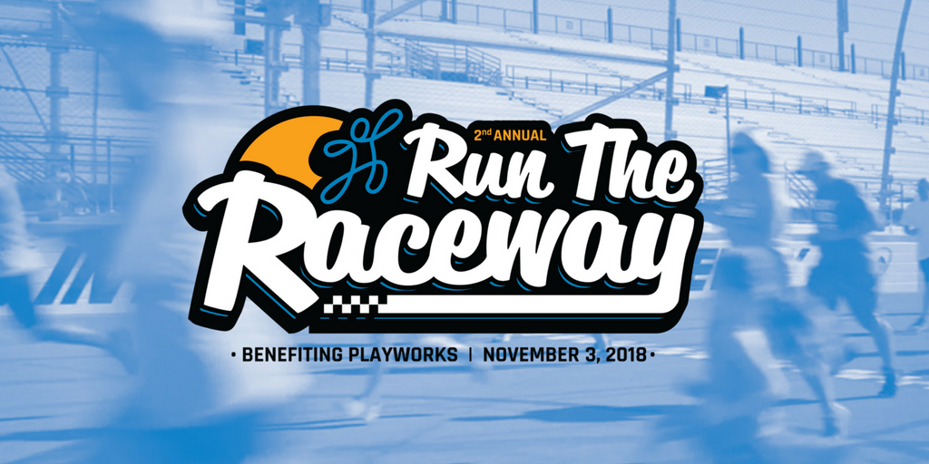 Run the Raceway in Avondale Arizona at ISM Raceway. Supports Playworks Arizona