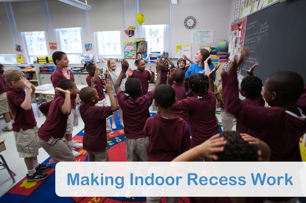 Classroom Winter Ideas ~ Making indoor recess work playworks