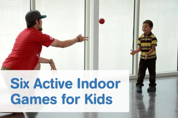 Six Active Indoor Games For Kids