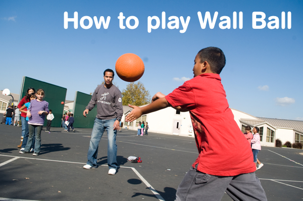 Recess games like wall ball