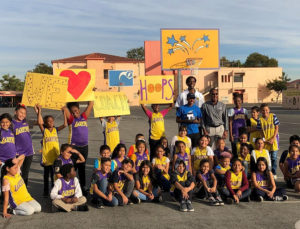 AmeriCorps Coach Hoops from Playworks Southern California