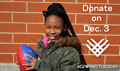Giving Tuesday. Donate to Playworks!