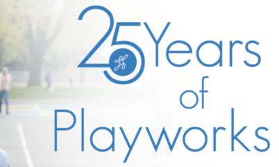 25 years of Playworks logo