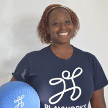 Playworks Michigan AmeriCorps Coach Eboni